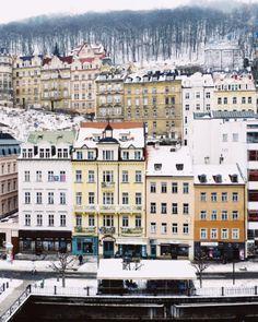 "wanderlusteurope: ""Karlovy Vary, Czech Republic """