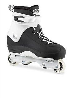 Other Inline and Roller Skating 1301: Rollerblade Men S Swindler Rb Street Skate Black White 10 -> BUY IT NOW ONLY: $181.56 on eBay!