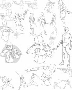 Newest Photographs drawing poses gun Strategies : Thus Danny, you actually arrived at the crazy landmark of 1000 working hours regarding apply about Quickposes, that is definitely 100 % astonishing! Drawing Base, Manga Drawing, Figure Drawing, Drawing Sketches, Art Drawings, Drawing Tips, Drawing Ideas, Drawing Body Poses, Drawing Reference Poses