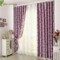 Elegant Comfort Red Color Jacquard Look Curtain Panel Set21