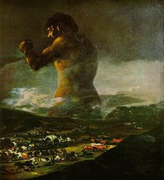 The Colossus (also known as Giant) (Spanish: El Coloso) is a painting at one time attributed to Francisco de Goya, but now believed to have been painted by an apprentice, probably Asensio Juliá