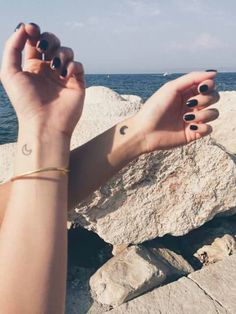 Cute little moon tattos really small and tumblr