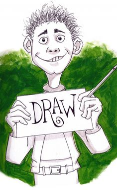 Draw Something! drawing by Darren Hester | Doodle Addicts