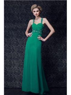A-line Floor-Length Straps Dasha's Evening Dress
