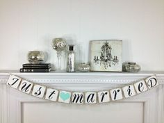 Hey, I found this really awesome Etsy listing at http://www.etsy.com/listing/130648184/just-married-banner-just-married-sign
