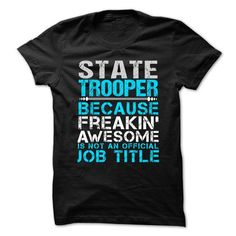Love being -- STATE-TROOPER - #cool gift #monogrammed gift. WANT => https://www.sunfrog.com/No-Category/Love-being--STATE-TROOPER-64370820-Guys.html?id=60505