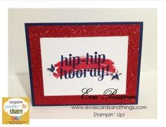 ICS Blog Hop - July 2014 - Red White and Blue