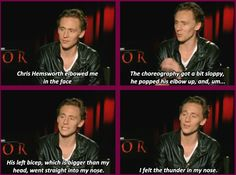 Oh, Tom Hiddleston.