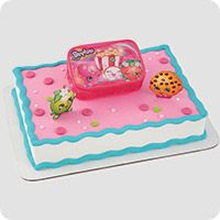 Get in on the action with Shopkins Decorating Kit. This epic cake topper includes characters from Shopkins. Place the set on the cake for the party as the main centrepiece. Shopkins Cake Toppers, Shopkins Birthday Cake, Birthday Cakes, 5th Birthday, Birthday Ideas, Fete Shopkins, Shopkins Art, Open A Party, Cake Decorating Kits