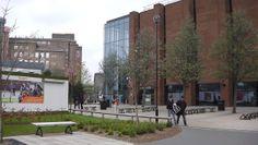 #Students mulling around. Aston University, Birmingham, Buildings, Students, Street View, House, Art, Art Background, Home