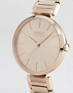 b08a9203a01 BOSS By Hugo Boss 1502418 Bracelet Watch In Rose Gold - Gold