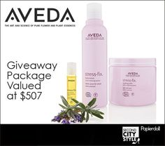 Second City Style April 2012 Giveaway: Win This Aveda Product Package Valued at $507! | Ends 4/30