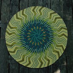 Kite Weather's crochet rugs from old sweaters - Todd Tyrtle, via Flickr