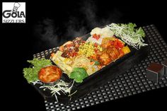 Get all #nutrients in one plate. Try our #Veg. Combo #Sizzler and get #health with a great taste