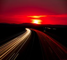 Higway to/from the light by Waldemar Moll on 500px