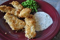 A kid friendly meal that adults will also enjoy: Panko-Crusted Fish Sticks