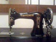 Máquina de costura: igual a que tinha minha avó!!