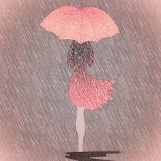 #colorfy #rainyday #lonelygirl