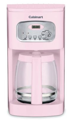 Cuisinart DCC-1100PK 12-Cup Programmable Coffeemaker, Pink $57.20 Check out the website to see more