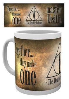 Harry Potter Deathly Hallows - Mok met Quote.