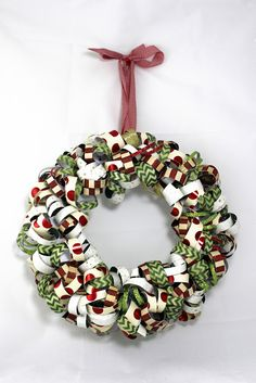 Day 4 - Wreaths   Craft-e-Corner Blog * Celebrate Your Creativity: A Wreath For Every Season -DIY Curled Paper Wreath