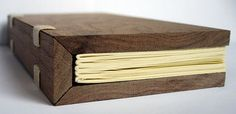 This Just Inbox: Heavy-duty sketchbooks made from reclaimed wooden planks - Core77