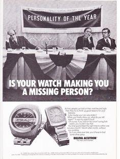 Bulova Accutron Watch Ad Pitch Opens MAD MEN Season 7