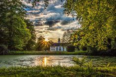 Fraeylemaborg during sunset by Wilco van der Laan Fotografie on 500px