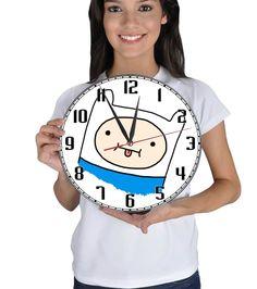 Adventure Time Duvar Saati (Bombeli Camlı)(41.25 TL)