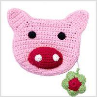 Häkel Tasche Schwein *Amalie* Franck & Fischer Piggy - Artikeldetailansicht - Town & Country Home Online Shop