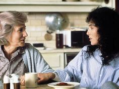 Happy birthday to Olympia Dukakis here with Cher - In one of my all-time favorite movies, Moonstruck! When You Love, I Love Him, My Love, 80s Movies, Good Movies, Awesome Movies, Love Movie, Movie Tv, Olympia Dukakis