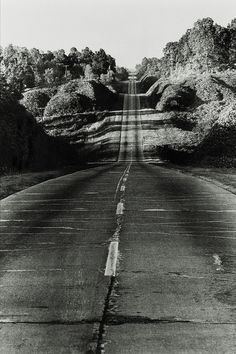 Danny Lyon, Highway 49 from Jackson to Yazoo City, 1964.