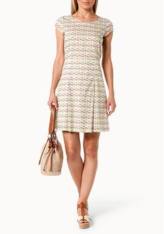 Kleid combo Liberty-Print by Marc O'Polo