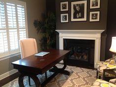 Beautiful office space (source: www.homeinteriorwarehouse.com ) #homedecor