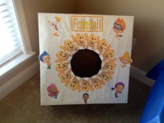 Fishketball for Bubble Guppies Party