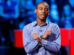 """Young poet, educator and activist Malcolm London performs his stirring poem about life on the front lines of high school. He tells of the """"oceans of adolescence"""" who come to school """"but never learn to swim,"""" of """"masculinity mimicked by men who grew up with no fathers."""" Beautiful, lyrical, chilling."""