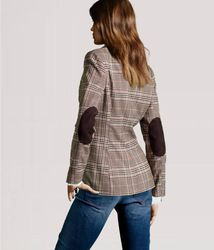 Online Shop European Style checked/gingham, herringbone/tweed,elbow patch plaid style Lapel Suit Blazer Coat Jacket Outwear Slim fit|Aliexpress Mobile