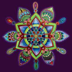 The Self Mandala by Eitan Kedmy