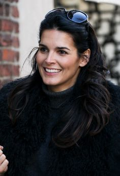 Angie Harmon ~~ gorgeous, brunette    actress, model, & mother and Native American