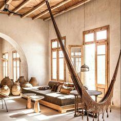 ♡♡♡ via @scorpiosmyk #mykonos #greece #interior #hammock #gypset #interiors4all #bohemiandecor #bohemian #boho #interior #dreamy #styling #holiday #restaurant #bar #scorpios #hangs #beach #barefootsandals