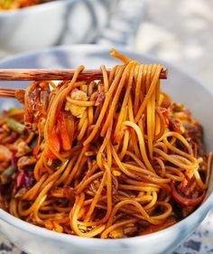 Asian Recipes, Healthy Recipes, Ethnic Recipes, Good Food, Yummy Food, International Recipes, Lunches And Dinners, Clean Eating, Food Porn
