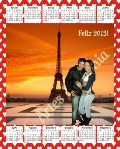 Calendário 2015 - Paris