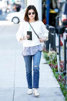 aa8e6d0f114 Why Lucy Hale s Look Is Perfect From Work to Weekend