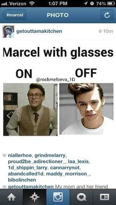I NEED A MARCEL OR A HARRY