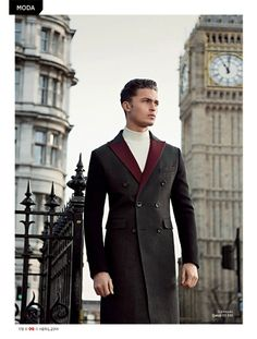 LONDON CALLING IS THE NAME OF THE LATEST EDITORIAL IN THE APRIL 2014 EDITION OF GQ BRAZIL STARRING HARVEY NEWTON-HAYDON PHOTOGRAPHED BY GREG...