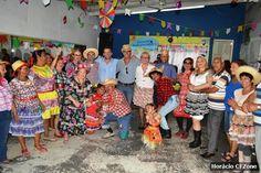 """CIDADE: """"Arraiá da Melhor Idade"""" foi um sucesso em Cabo Fr..."""