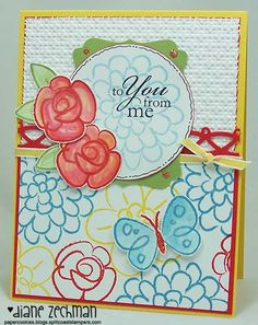 flower fest by cookiestamper - Cards and Paper Crafts at Splitcoaststampers