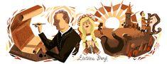 Google Doodle of the Day - Jonas Maciulis-Maironis' 150th Birthday (Lithuania)