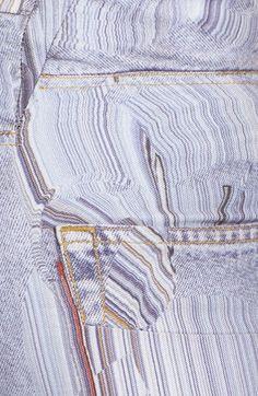 Faustine Steinmetz Smudge Denim Jeans | Nordstrom Fashion Details, Timeless Fashion, High Fashion, Fashion Design, Fashion Ideas, Denim Jeans, Cropped Jeans, Faustine Steinmetz, Nordstrom