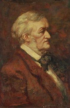 Munich and Co: Portraits et oeuvres de Richard Wagner par le pein...